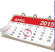 April 15 Deadline