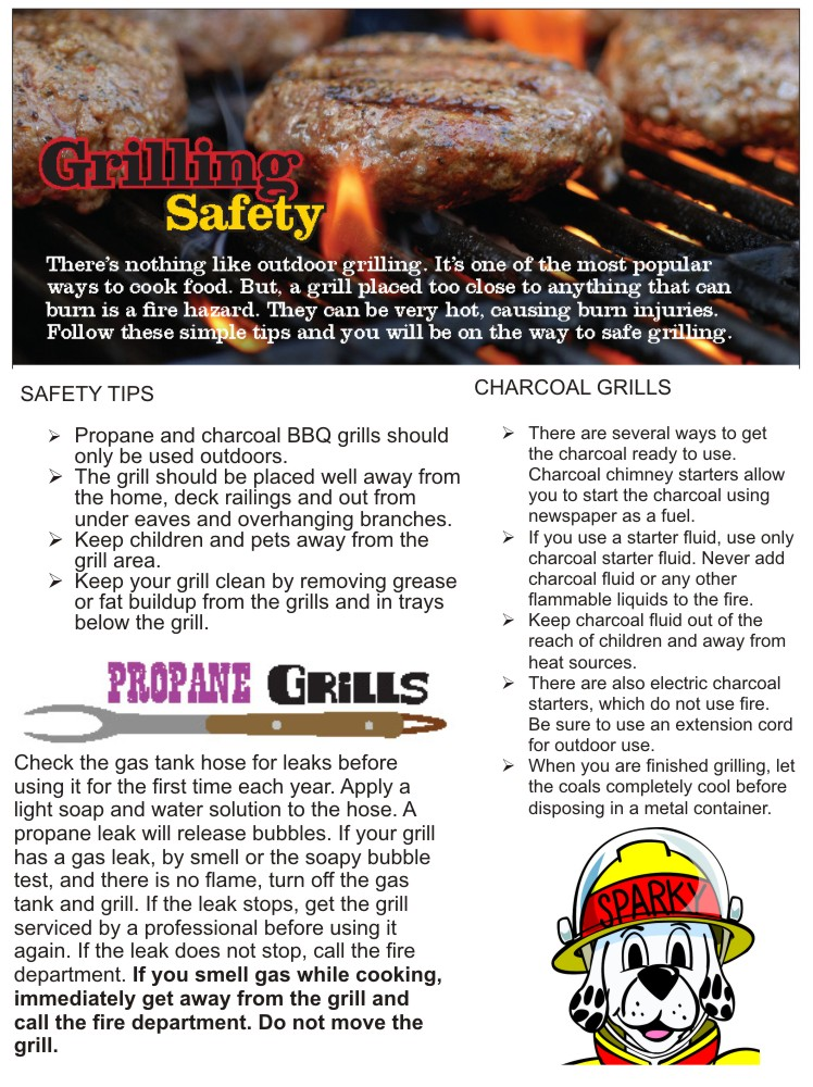 Grilling Safety 2013